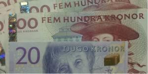 деньги в швеции кроны