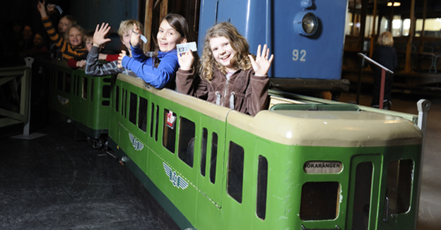 с детьми в стокгольме музей транспорта