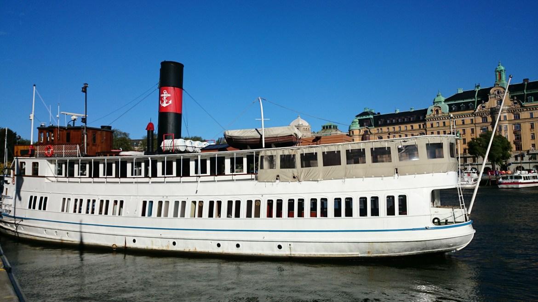 покататься на кораблике в Стокгольме_С