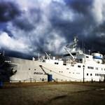 корабль Биргерл Ярл в Стокгольме