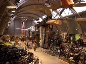 самолеты, технический музей в Стокгольме