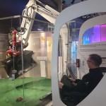 Попробовать управлять эскаватором в техническом музее Стокгольма