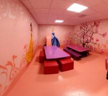 комната принцессы в игровом парке