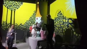 представление Муми-Тролли в Юнибакен