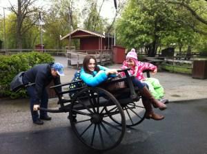 семейных отдых в паке Скансен в Стокгольме