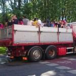 грузовик со студентами в стокгольме