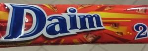 Daim недорогой шоколад отличный сувенир из швеции