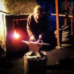 Старинная кузнеца в шведской деревне Wira