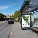 автобуса у Викинг терминала в Стокгольме