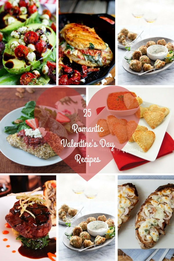 25 romantic recipes for valentine's day