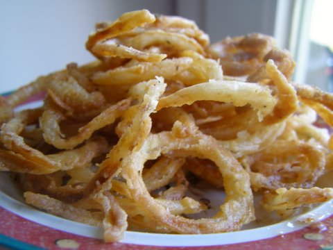 homemade gluten free onion straws
