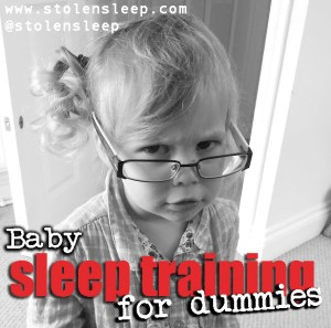sleeptraining for dunmmies