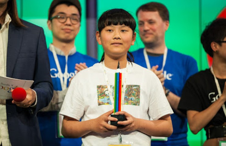 audrey zhang wins google contest