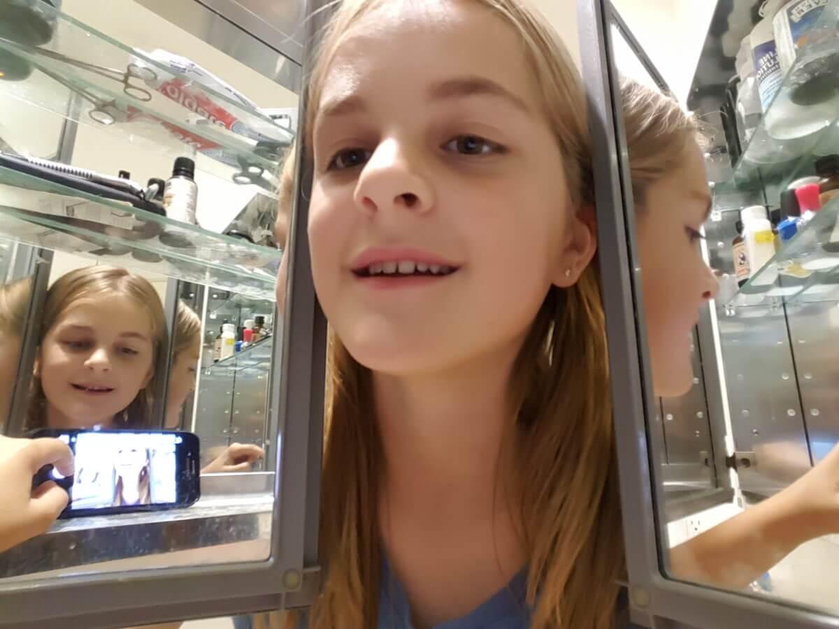 """100 Mes"" Sophia Lee Bartolini, age 11, New York"