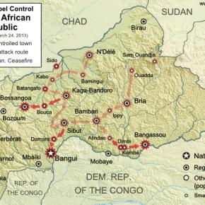 2013 military campaign of the Séléka rebel movement