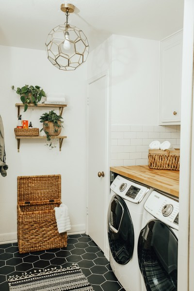 Before & After: Our Laundry Room Reveal! - LivvyLand ...