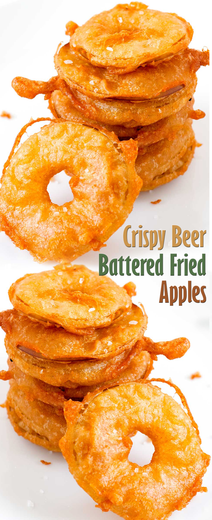 Dainty Problems This Click Here Crispy Beer Battered Fried Apples Luck S Fried Apples Recipes Fried Apples Recipe Without Butter nice food Fried Apples Recipe