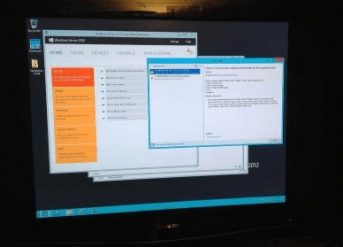 Windows 2012 on TS140
