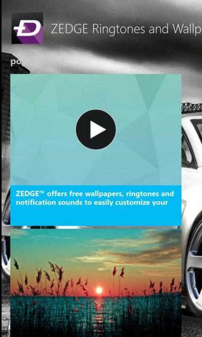 ZEDGE Ringtones and Wallpapers   FREE Windows Phone app market