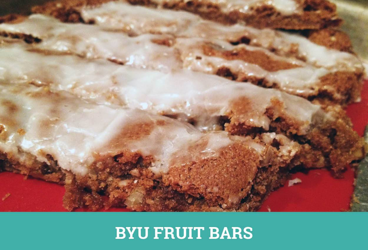 BYU Fruit Bars | Store This, Not That!