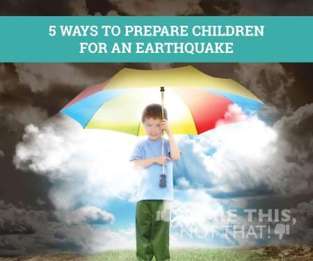 PREP KIDS EARTHQUAKE