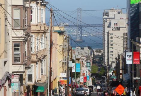 San Francisco bustle