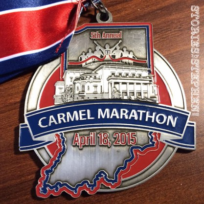 Finisher's medal...