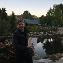 StoryAtlas founder Hunter Lee Hughes scores award at Breckenridge Film Festival