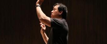 Preparing to conduct Britten's War Requiem