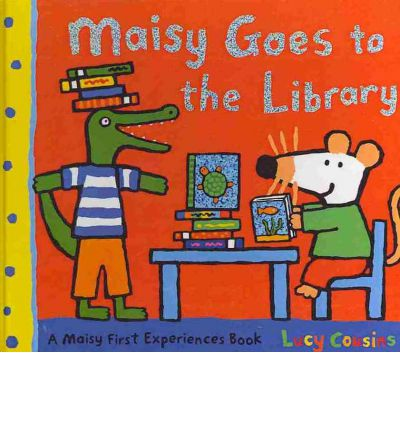 #NationalLibrariesDay - Maisy Goes to the Library by Lucy Cousins