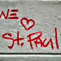 """We Love St. Pauli"" Wallpaper"