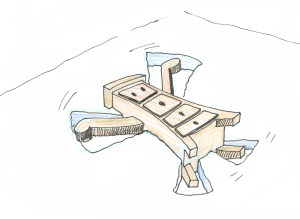 Snow Angel Sketch