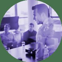 Straightlines, johtamisen konsultti - alustava keskustelu