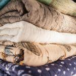 Tagesdecke, indischer Quilt, handmade, fair trade, decke, tagesdecke, plaid, indisch, blockprint, seide, baumwolle, von hand gearbeitet,