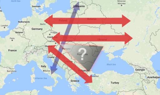 Adevaratele axe geopolitice si economice din zona.