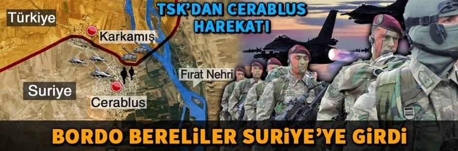 Türkiyə Suriyada hərbi əməliyyata başladı –