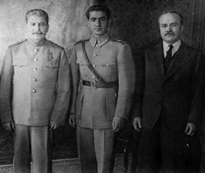 stalin-pehlevi