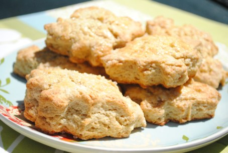 Creme-fraiche-Brown-Sugar-Scones