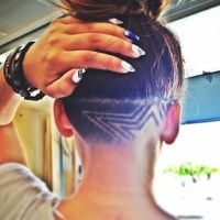 12 Nape Undercut Hairstyle Designs