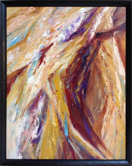 Dioxazine Purple Abstract by Strazza