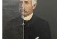 Old Oil Portrait Restored