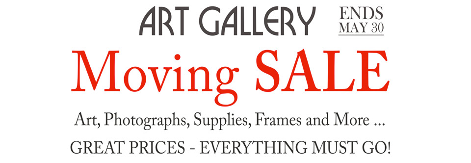 We are Moving and having a Sale