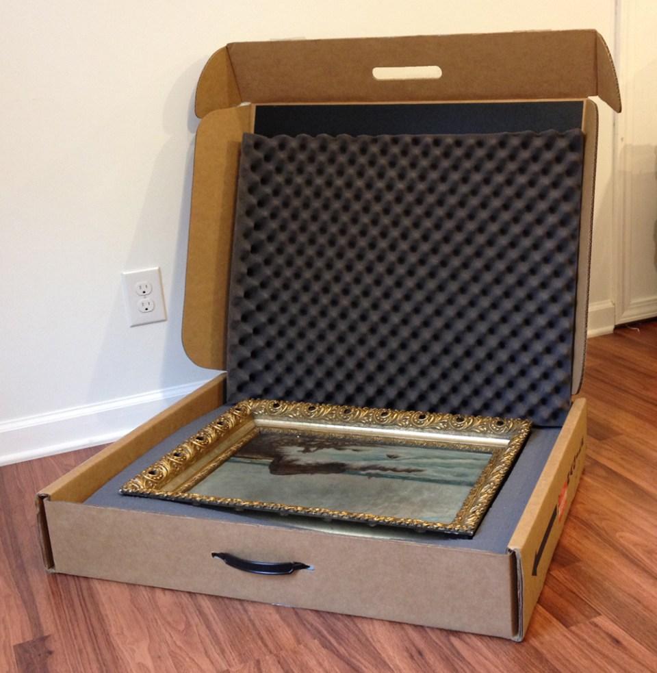Box to ship paintings