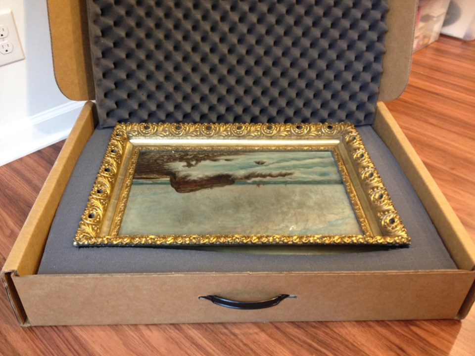 Box to ship paintings safely