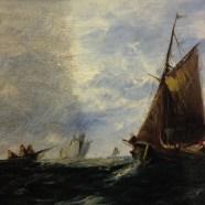 Historic Ship painting Restored