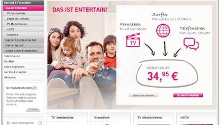 Telekom: Mehr Volumen für Bestandskunden beim Streamen
