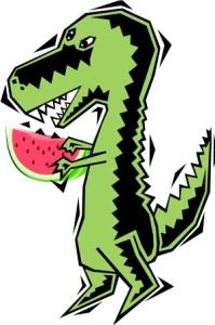 Dinosaur Watermelon