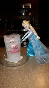 Frozen Elf on the Shelf