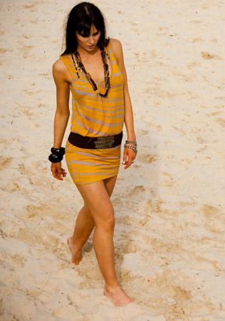 Tribal Resort Mini Dress