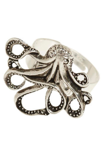 Octopus Ring at Modcloth